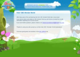 Kidscbcwonderworld.ca thumbnail