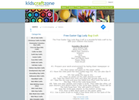 Kidscraftzone.com thumbnail