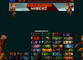 Kidsgamesheroes.com thumbnail