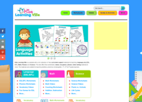 Kidslearningville.com thumbnail