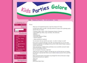 Kidspartiesgalore.co.za thumbnail