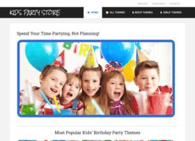 Kidspartystore.org thumbnail