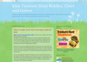 Kidstreasurehuntriddles.com thumbnail