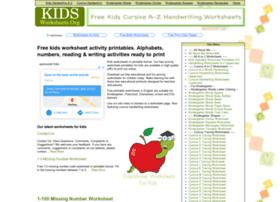 Kidsworksheets.org thumbnail