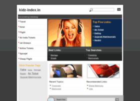 Kidz-index.in thumbnail