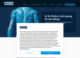 Kieser-training.at thumbnail