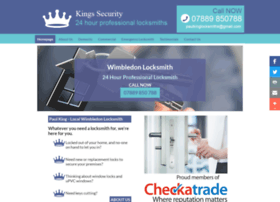 Kings-security.co.uk thumbnail