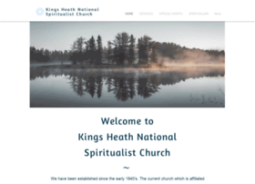 Kingsheathnationalspiritualistchurch.com thumbnail