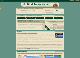 Kiwireviews.co.nz thumbnail