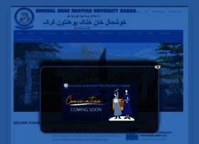 Kkkuk.edu.pk thumbnail