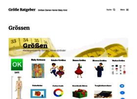 Kleidergroessen.info thumbnail