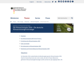 Klimaschutzplan2050.de thumbnail