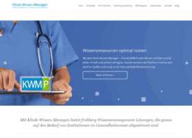 Klinik-wissen-managen.de thumbnail