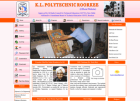 Klproorkee.co.in thumbnail