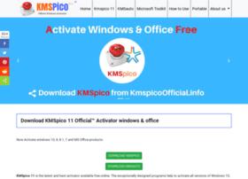 Kmspicoofficial.info thumbnail