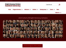 Knight-hennessy.stanford.edu thumbnail