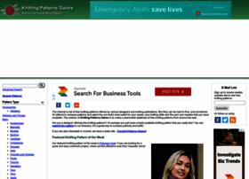 Knittingpatternsgalore.com thumbnail