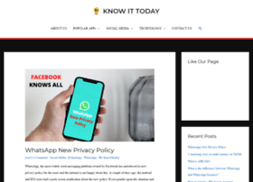 Knowittoday.com thumbnail