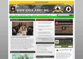 Knox.army.mil thumbnail