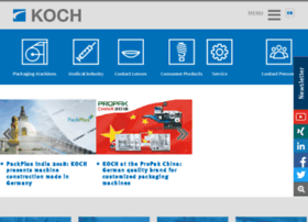 Koch industries employees solutions at website informer for Koch pac systeme