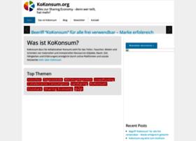 Kokonsum.org thumbnail