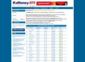 Komoney.site thumbnail