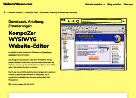 Kompozer-web.de thumbnail