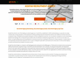 Kontakrecruitment.com thumbnail