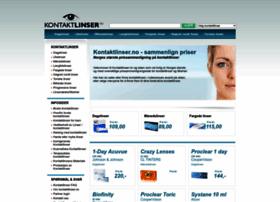 Kontaktlinser.no thumbnail