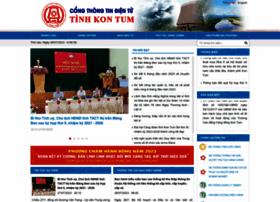 Kontum.gov.vn thumbnail