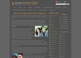 Korean-drama-guide.com thumbnail