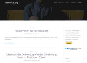 Kornelius.org thumbnail