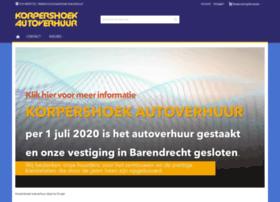 Korpershoekautoverhuur.nl thumbnail