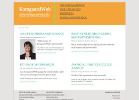 Korsgaardweb.dk thumbnail