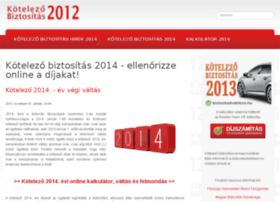 Kotelezobiztositas-2012.hu thumbnail
