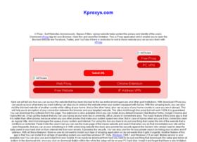 Kproxys.com thumbnail