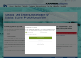 Kraemer-lufttechnik.de thumbnail