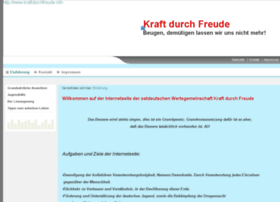 Kraftdurchfreude.info thumbnail