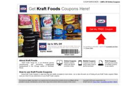 Kraftfoods.couponrocker.com thumbnail