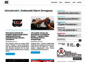Krakowskialarmsmogowy.pl thumbnail