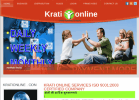 Krationline.in thumbnail