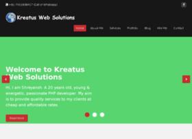 Kreatusweb.com thumbnail
