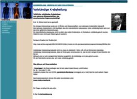 Krebs-ursache-heilung.ch thumbnail