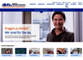 Krebsinformationsdienst.de thumbnail