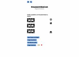Kreuzworträtsel Net Allgemeinwissen