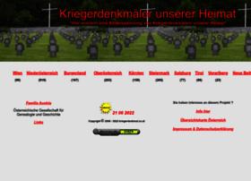 Kriegerdenkmal.co.at thumbnail