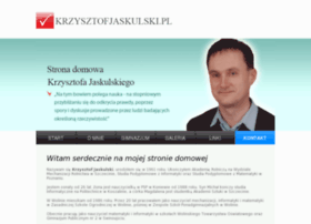 Krzysztofjaskulski.pl thumbnail