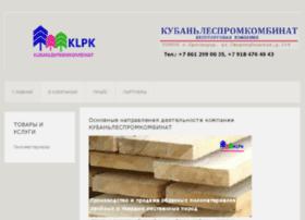 Kubanlespromkombinat.ru thumbnail