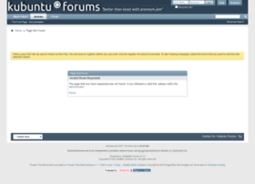 Kubuntuforums.net thumbnail