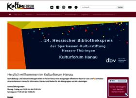 Kulturforum-hanau.de thumbnail